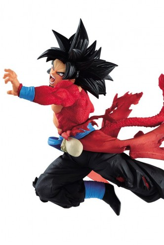 Super Dragon Ball Heroes Estatua PVC Super Saiyan 4 Son Goku Xeno 9th Anniversary