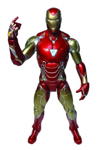 Vengadores Endgame Marvel Select Figura Iron Man MK 85