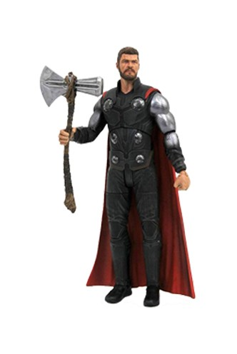 Vengadores Infinity War Marvel Select Figuras Thor & Groot