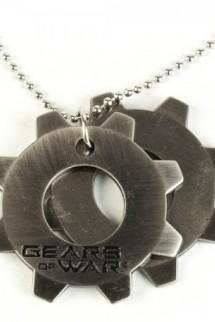Gears of War Dog Tags with ball chain