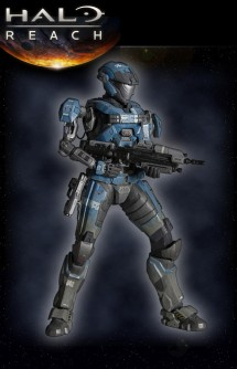 Halo Reach Play Arts Figure Kat