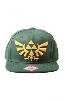 Nintendo - Zelda, Golden Logo, Snap Back Cap