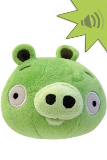 Angry Birds 4 inch Mini Plush With Sound - GREEN PIG