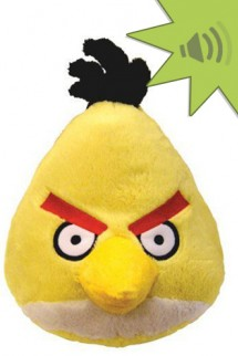 Angry Birds 4 inch Mini Plush With Sound - Yellow
