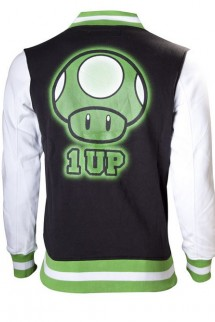 Nintendo 1 Up , Jacket sweater
