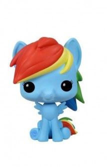 TV POP! My Little Pony Rainbow Dash Vinyl