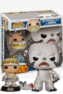 Pop! Star Wars: Luke Skywalker (Hoth) y Wampa - EXCLUSIVO