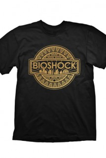 "Bioshock Infinite Camiseta ""Golden Logo"""