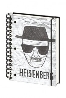"Breaking Bad Libreta A5 ""Heisenberg"""