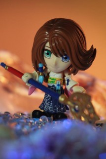 Final Fantasy: Trading Arts Kai: Yuna Mini Figure