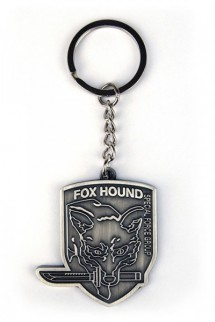 Metal Gear Rising Metal Keychain Fox Hound
