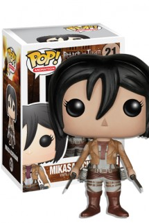 Pop! Animation: Ataque a los Titanes - Mikasa Ackerman