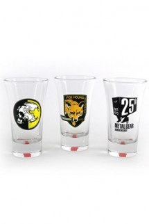 Metal Gear Solid Shotglass 3-Pack