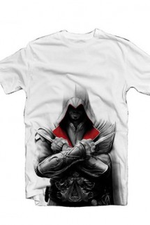 "Camiseta - Assassin´s Creed II - Ezio ""blanca"""