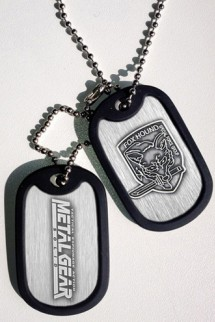 Metal Gear Solid Dogtag Foxhound Logo