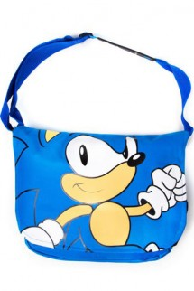 Sega - Blue, Sonic Walks Messenger Bag