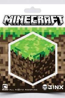 "Minecraft pegatina ""Dirt Block"""