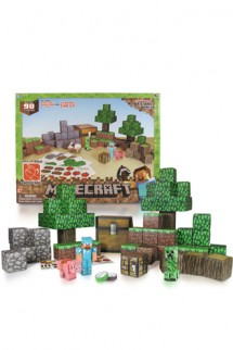 "Papercraft - Minecraft: 90 Piezas ""DELUXE SET"""