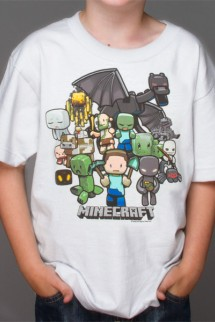 "Camiseta - MINECRAFT ""Party"" Niño"