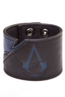 Assassins Creed Unity - Black/Blue Wristband