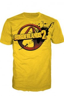 "Camiseta - Borderlands 2 Logo ""Amarilla"""