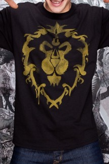 "Camiseta - World of Warcraft - ""Spray Alianza"""