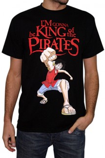 "Camiseta - ONE PIECE ""I´m Gonna be KING of the PIRATES"""