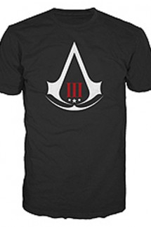 "Camiseta - ASSASSIN´S CREED III ""Crest Logo"""