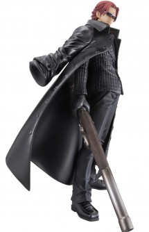 "Figure - P.O.P Strong Edition: ONE PIECE ""Red-Haired: Shanks."" 24cm."