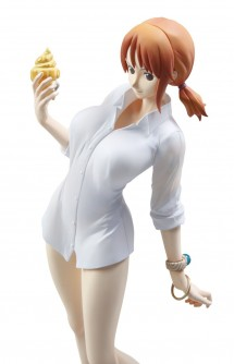 "Figure - P.O.P Strong Edition: ONE PIECE ""Nami Ending Ver."" 23cm."