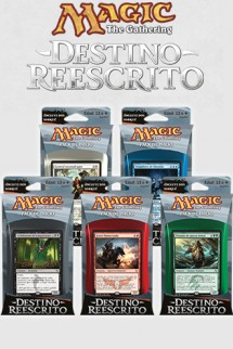 "Magic the Gathering ""Destino Reescrito"" Pack de Inicio"