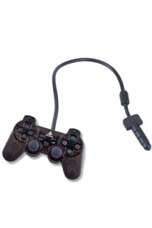 "Phone Jack - Controller PlayStation 20th anniversary ""Black Skeleton"""