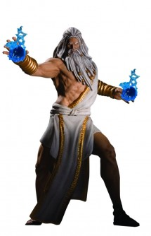 "Figura - Dc Unlimited: God of War ""Zeus"" 18cm."