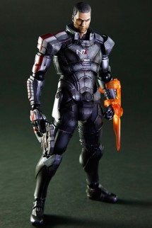 "Figure Play Arts Kai - Mass Effect 3 ""Commander Shepard"""