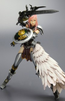 Final Fantasy XIII-2: Play Arts Kai: Lightning Action Figure
