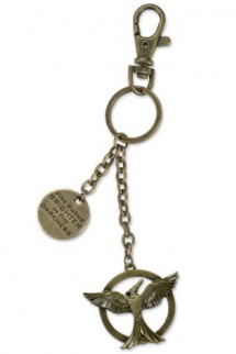 The Hunger Games Mockingjay Cutout Metal Keychain