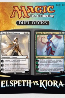 ELSPETH vs. KIORA - MTG Magic the Gathering 2015 Duel Decks Box Set