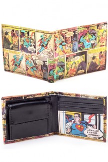 Superman - Classic Comic Story Bifold Wallet