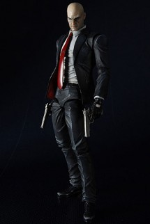 "Figura Play Arts Kai - Hitman Absolution ""Agent 47"" 23cm."