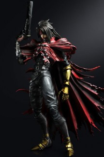 "Figure Play Arts Kai - FFVII: Advent Children ""Vincent Valentine"" 28cm."