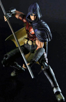 "Figura Play Arts Kai - Batman Arkham City ""Robin"" 25cm."
