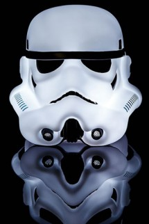 White 3D Stormtrooper 25cm Star Wars Mood Light