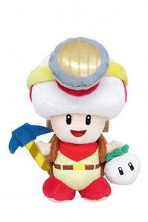 "Plush - Nintendo: Captain Toad ""Standing Pose""  7.5"""