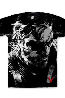 "Camiseta - Metal Gear Solid V: Ground Zeroes ""Big Boss"""