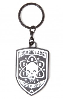 "Llavero Metal - Call of Duty: Black Ops III ""Zombie Labs"""