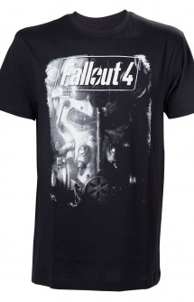 "Camiseta - Fallout 4 ""Brotherhood of Steel"""