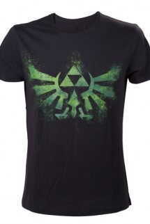 "Camiseta - The Legend of Zelda ""Logo Verde"""