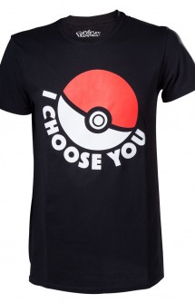 "Camiseta - Pokémon ""I Choose You"""