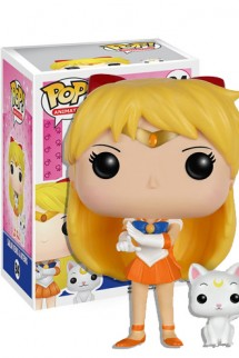 Pop! Animation: Sailor Moon - Sailor Venus with Artemis