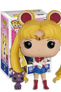 Pop! Animation: Sailor Moon - Sailor Moon with Luna